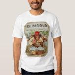 Retro Vintage Kitsch 30s Cigar El Ricolo Chimp Dresses