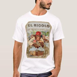 Retro Vintage Kitsch 30s Cigar El Ricolo Chimp T-Shirt