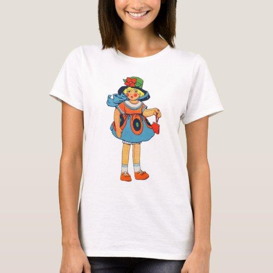 Retro Vintage Kitsch 30s Toyland Toy Doll T-Shirt