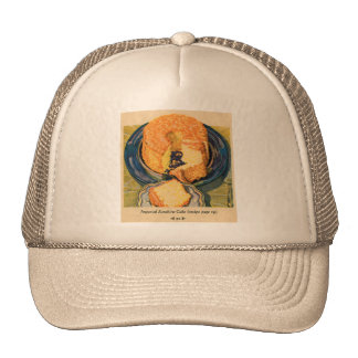 Retro Vintage Kitsch 40s Cakes Art Sunshine Cake Trucker Hat