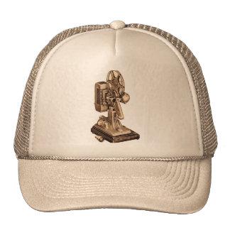 Retro Vintage Kitsch 50s 8mm Film Projector Trucker Hat