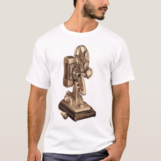 Retro Vintage Kitsch 50s 8mm Film Projector T-Shirt