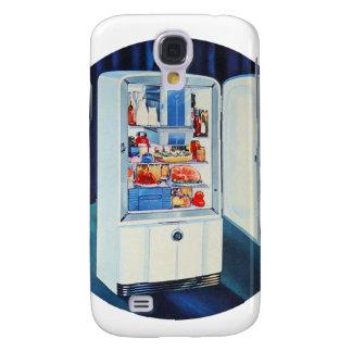 Retro Vintage Kitsch 50s Full Refrigerator Fridge Galaxy S4 Cover