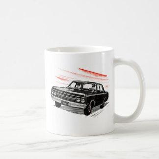 Retro Vintage Kitsch 60s Cop Police Car Classic White Coffee Mug