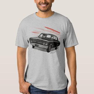 Retro Vintage Kitsch 60s Cop Police Car Shirt