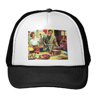 Retro Vintage Kitsch 60s Country Living Suburbs Trucker Hat
