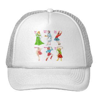 Retro Vintage Kitsch 60s Girls Dreams Trucker Hat