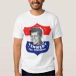 Retro Vintage Kitsch 60s Kennedy For President T-shirt