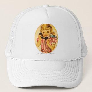 Retro Vintage Kitsch A Little Bird Told Me Trucker Hat