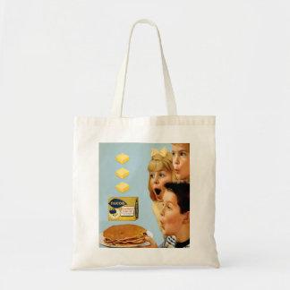 Retro Vintage Kitsch Ad Nucoa Margarine 3 Pats Tote Bag