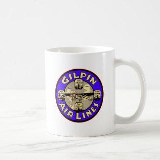 Retro Vintage Kitsch Airplanes Gilpin Airlines Coffee Mug