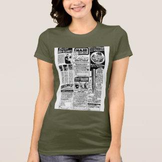 Retro Vintage Kitsch Bad Magazine Ads T-Shirt