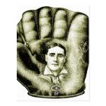 Retro Vintage Kitsch Baseball Glove Nibs Ad Art Post Cards