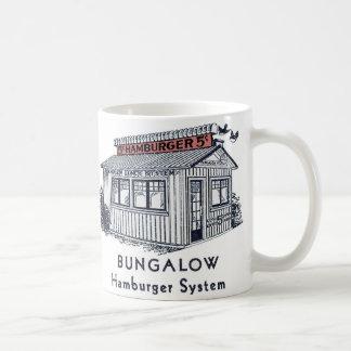 Retro Vintage Kitsch Bungalow Hamburger System Coffee Mug