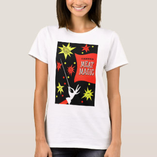 Retro Vintage Kitsch Canned Meat Magic T-Shirt