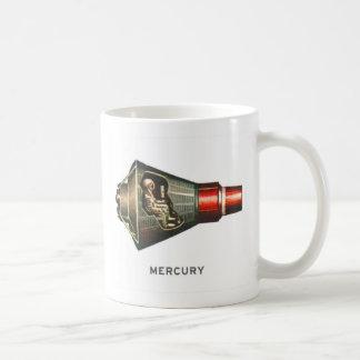 Retro Vintage Kitsch Capsule Mercury Astronaut Coffee Mugs