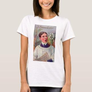 Retro Vintage Kitsch Catholic Altar Boy Easter T-Shirt