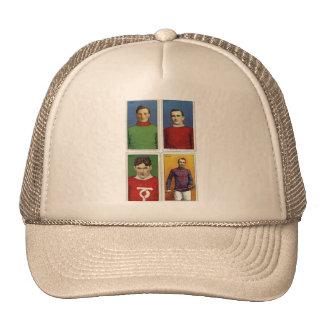 Retro Vintage Kitsch Cigarette Card Field Hockey Trucker Hat