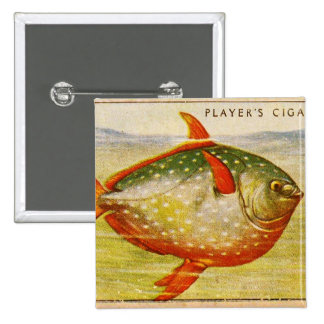 Retro Vintage Kitsch Cigarette Card Opah Fish Pin