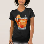 Retro Vintage Kitsch Cocktail Drink Old Fashioned T Shirt