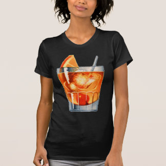 Retro Vintage Kitsch Cocktail Drink Old Fashioned T-Shirt
