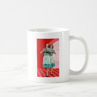 Retro Vintage Kitsch Cooking Kitchen Housewife Coffee Mug