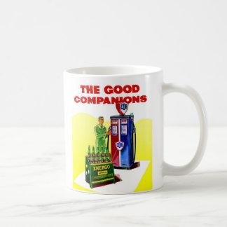 Retro Vintage Kitsch COR Gas Station Ad UK Energo Coffee Mug