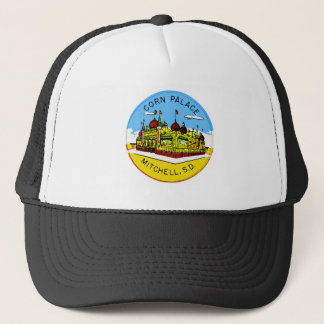 Retro Vintage Kitsch Corn Palace South Dakota Trucker Hat