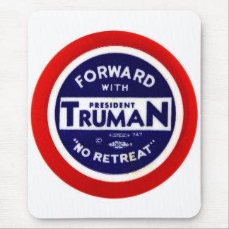 Retro Vintage Kitsch Democrats Forward With Truman Mouse Pad