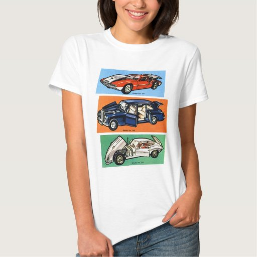 Retro Vintage Kitsch Diecast 60s Toy Cars T-Shirt