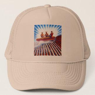Retro Vintage Kitsch Farmer Fertilizer Poster Art Trucker Hat