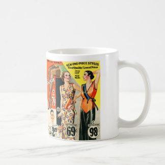 Retro Vintage Kitsch Fashion Catalog Art Mugs