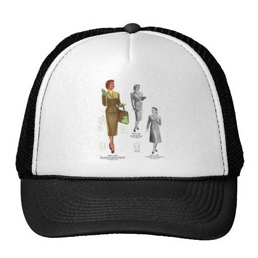 Retro Vintage Kitsch Fashion Women's Wear Mesh Hat