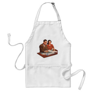 Retro Vintage Kitsch Fifties Suburbs House Plans Adult Apron