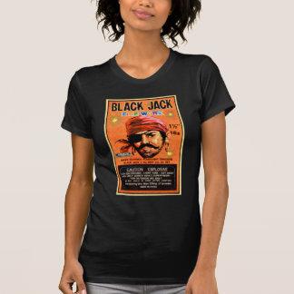Retro Vintage Kitsch Firecracker Blackjack Brand T-shirt