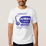 Retro Vintage Kitsch Firework Jumbo Glowworm Snake Tee Shirt