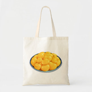 Retro Vintage Kitsch Food Butter Beans Budget Tote Bag