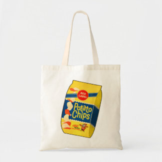 Retro Vintage Kitsch Food Crisps Potato Chips Bag