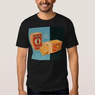 Retro Vintage Kitsch Food Magic Foam Yeast T-shirt