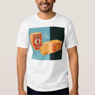 Retro Vintage Kitsch Food Magic Foam Yeast Tee Shirt