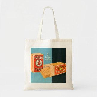Retro Vintage Kitsch Food Magic Foam Yeast Tote Bag