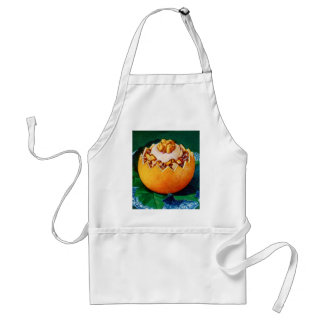 Retro Vintage Kitsch Food Orange Delite Dessert Adult Apron