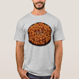 Retro Vintage Kitsch Food Pork and Beans T-Shirt