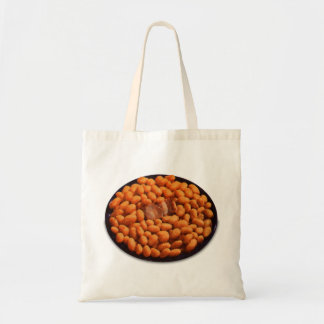 Retro Vintage Kitsch Food Pork and Beans Tote Bag