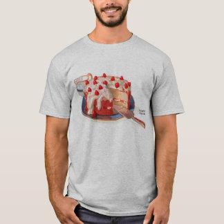 Retro Vintage Kitsch Food Strawberry Shortcake T-Shirt