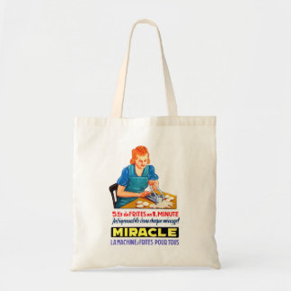 Retro Vintage Kitsch French Fry Frites Dutch Ad Tote Bag
