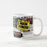 Retro Vintage Kitsch Giant Moon Monster Comic Ad Coffee Mug