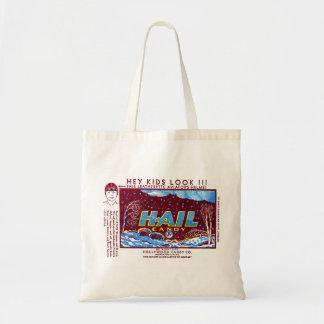 Retro Vintage Kitsch Hail Candy Wrapper Tote Bag