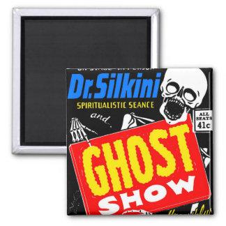 Retro Vintage Kitsch Halloween Ghost Show Magnet