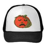 Retro Vintage Kitsch Halloween Pumpkin Toothache Trucker Hat